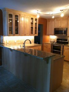 Custom Cabinets Granite Countertops