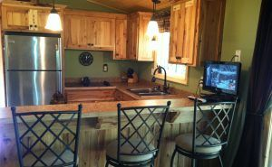 New Cabin Kitchen