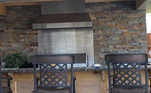 Outdoor Bar Grill