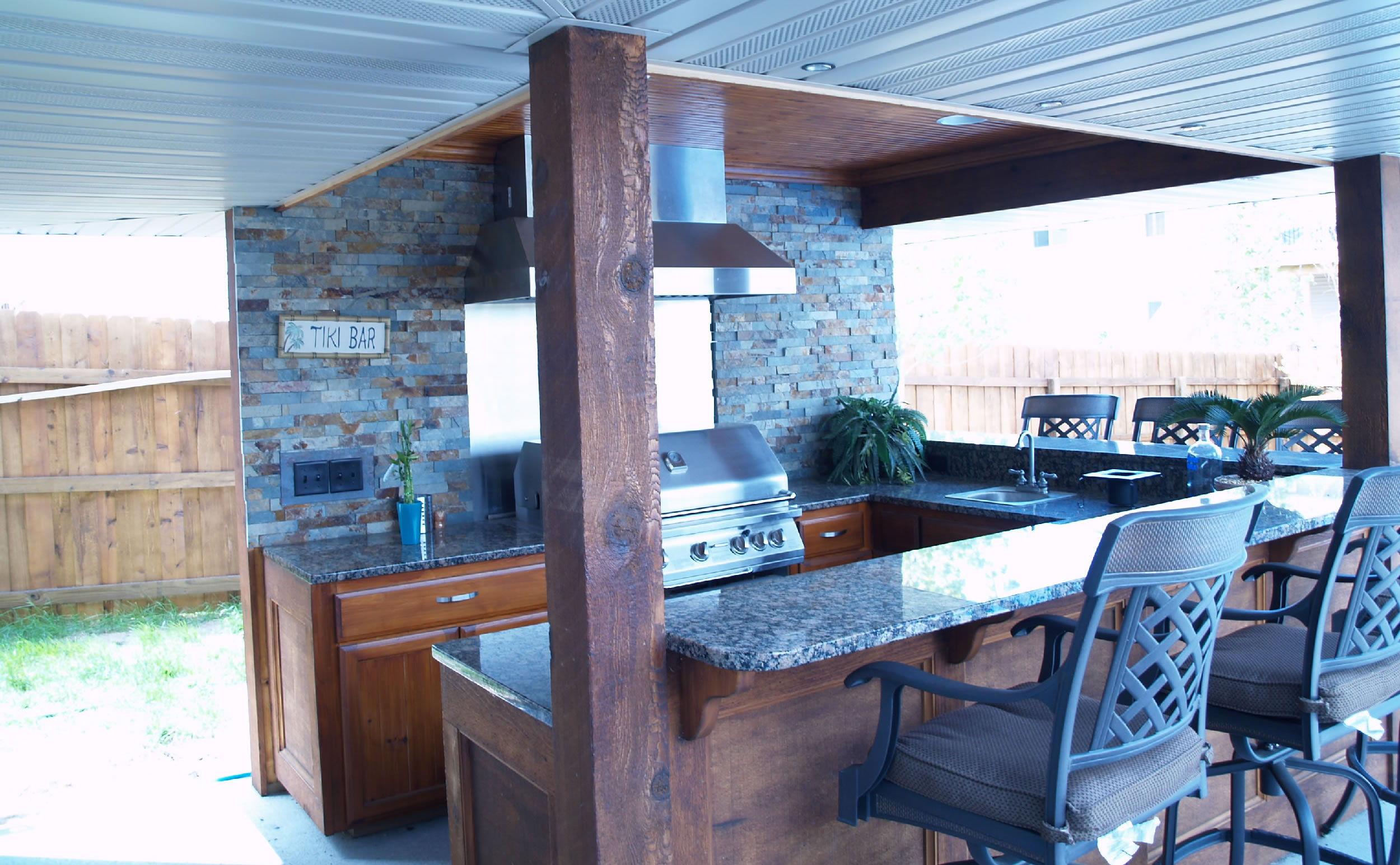 Outdoor Kitchen | Aspen Remodelers Inc