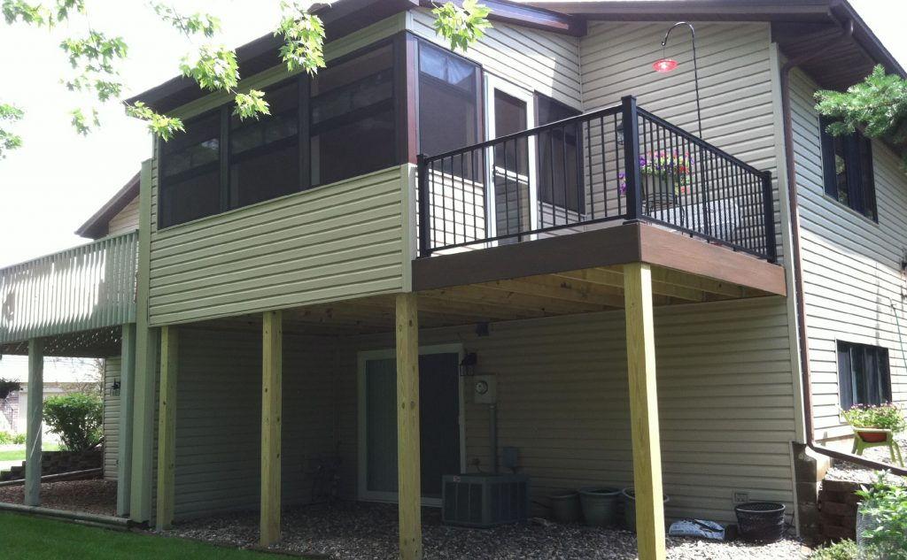 Screen Porch Addition Exterior
