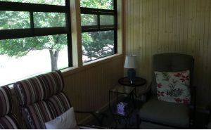Three Season Porch Interior